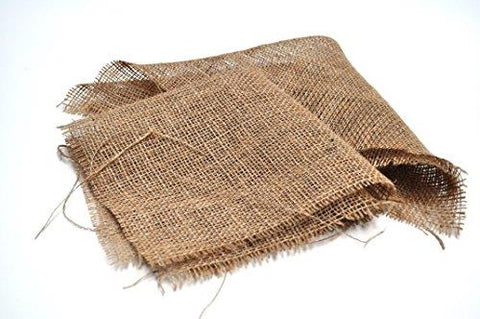 Hessian Square Liners for Plant Baskets
