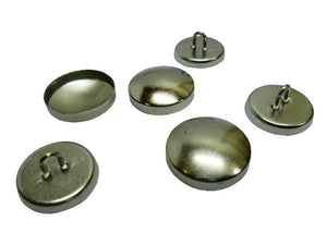 Backs and Wire Eye Shell Buttons packs of 144 for C . S. Osborne Button Presses