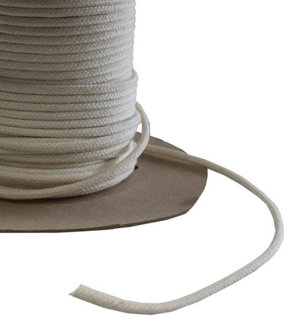 Braided Cotton Piping Cord 5mm per metre