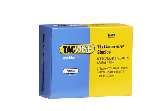 Tacwise 71 Series Staples 20,000 Box