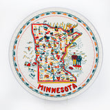 Minnesota Map Platter