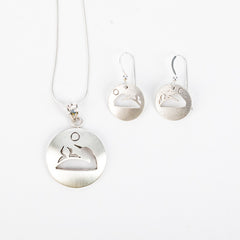 Mother Loon Sterling Silver Jewelry