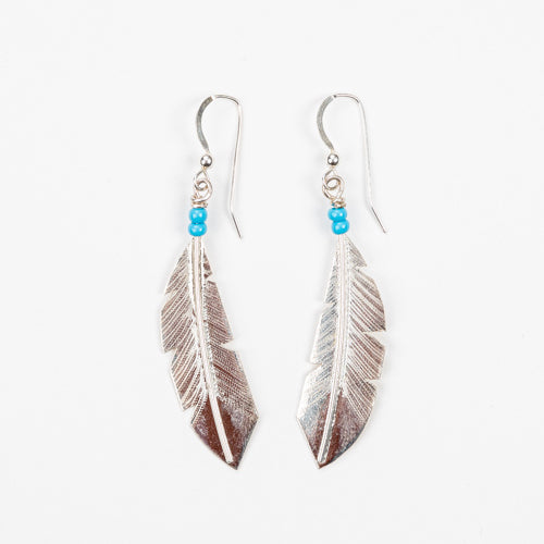 Lineage Designs Lucky Feather Earrings