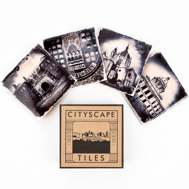 City Tile St. Paul Coaster Set