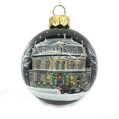 Alexander Ramsey House Glass Ornament