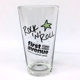 First Avenue Exhibit Rock 'n Roll Pint Glass