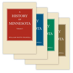History of Minnesota, Four Volume Set