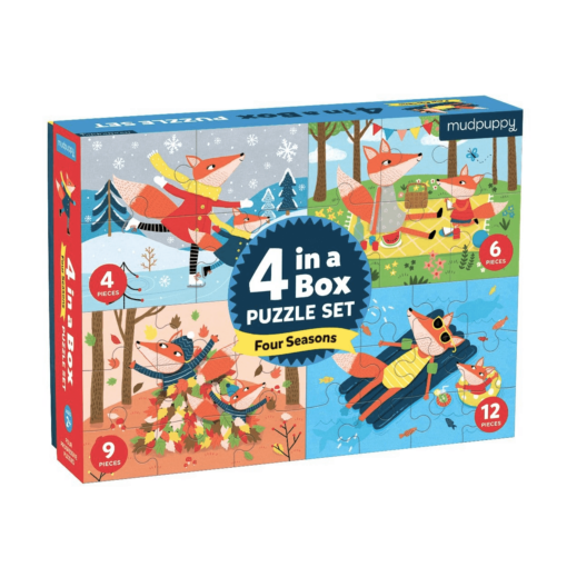 Four Seasons 4 in a Box Puzzles
