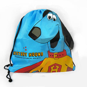 History Hound Backpack Tote