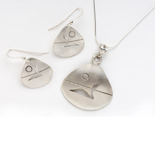 Lineage Designs Loon Pendant or Earrings