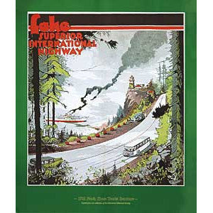 Lake Superior International Highway Poster