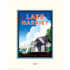 Lake Harriet Bandshell Print