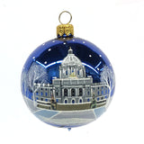 Minnesota Capitol Glass Ornament