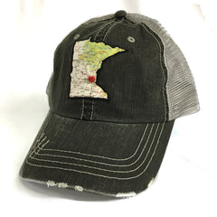 Minnesota Home State Trucker Hat