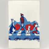 Minnesota Abbey Road Tea Towel