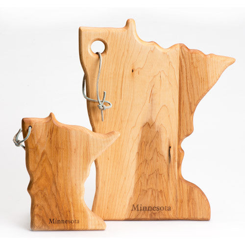 State Shaped Cutting Board