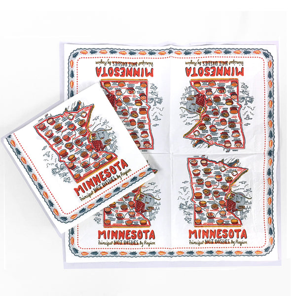Minnesota Hot Dish Table Napkins