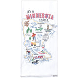 It's a Minnesota Thing Embroidered Towel