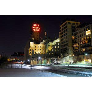 Mill City Museum, Night Scene