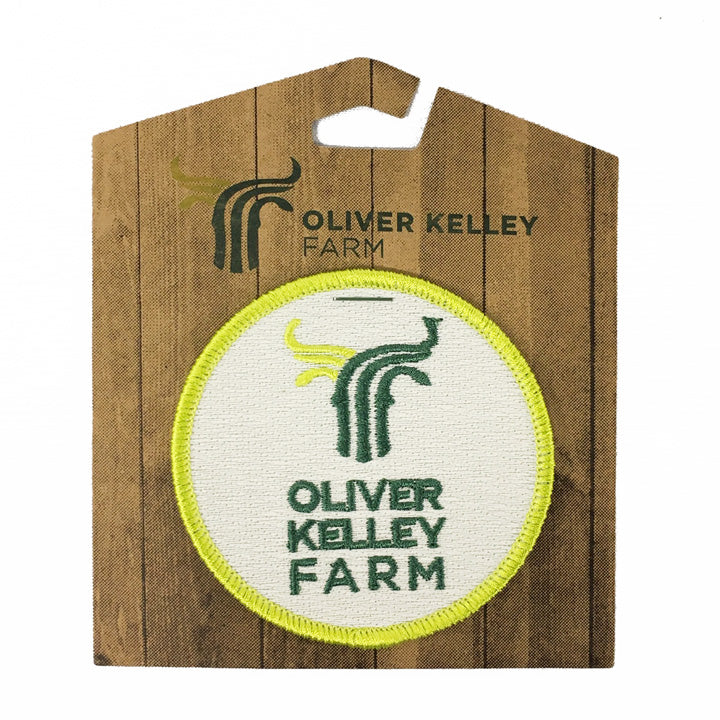 Oliver Kelley Farm Embroidered Patch