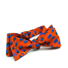 Through Jimmy's Eyes Silk Bow Tie
