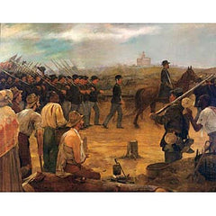 4th Minnesota Regiment Entering Vicksburg Print