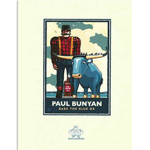 Paul Bunyan Lakeside Print