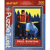 Paul Bunyan and Babe Puzzle Twist