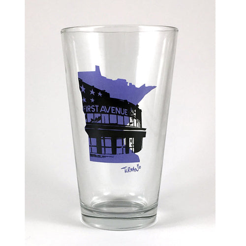 First Avenue Pint Glass