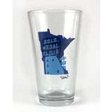 Gold Medal Flour Sign Pint Glass