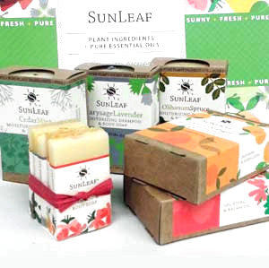 SunLeaf Naturals Shampoo and Body Soap