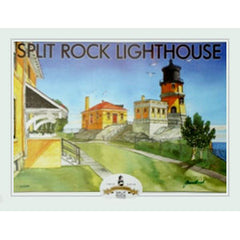 Split Rock Lighthouse Limited Edition Centennial Poster