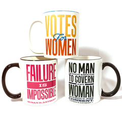 Susan B. Anthony Quote Mugs