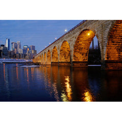 Stone Arch Bridge, Evening