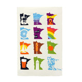 Minnesota Months Tea Towel