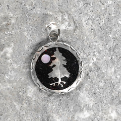 Lineage Designs Tree and Moon Pendant