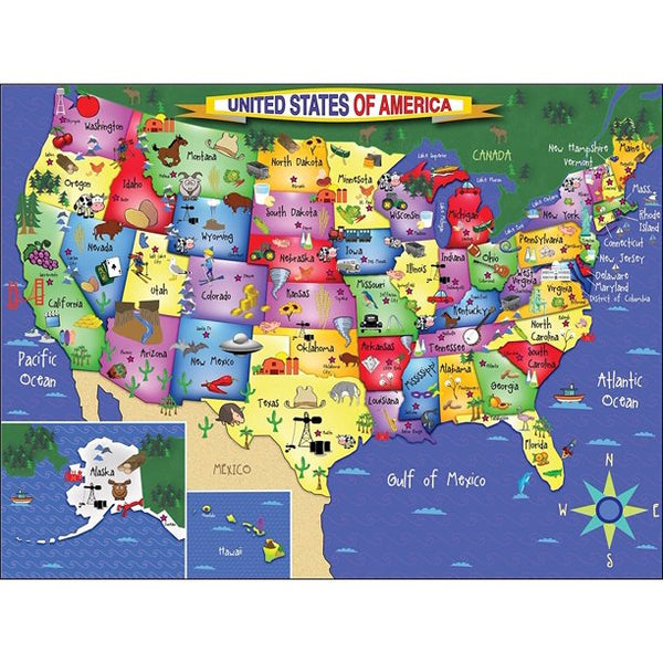 United States Of America 300 Piece Puzzle