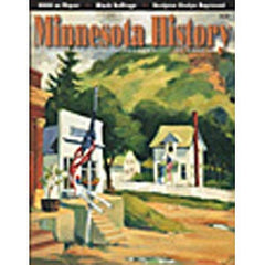Minnesota History Quarterly Summer 1998 (56:2)