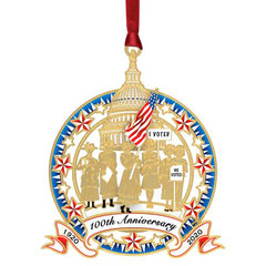 Women's Right to Vote 100th Anniversary Ornament