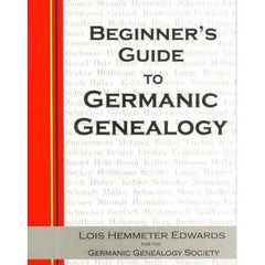 Germanic Genealogy Beginner's Guide