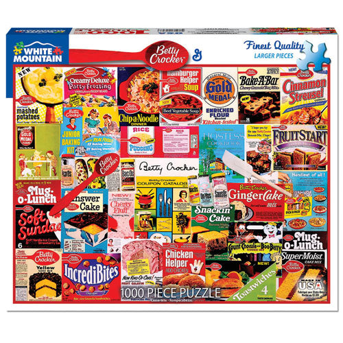 Betty Crocker 1000 Piece Puzzle