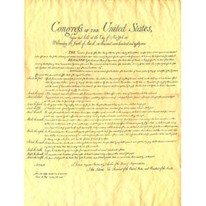 United States Bill of Rights, 1789