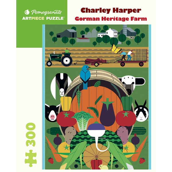 Gorman Heritage 300 Piece Farm Puzzle