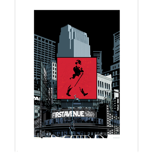 "First Avenue ""City Line"" Print"