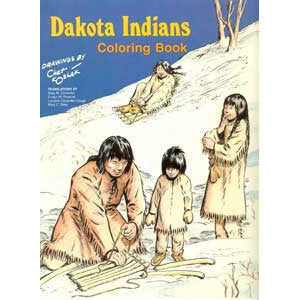 Dakota Indians Coloring Book