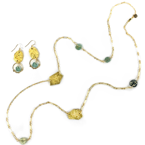 "Tessoro ""Etruscan Collection"" Earrings or Necklace"