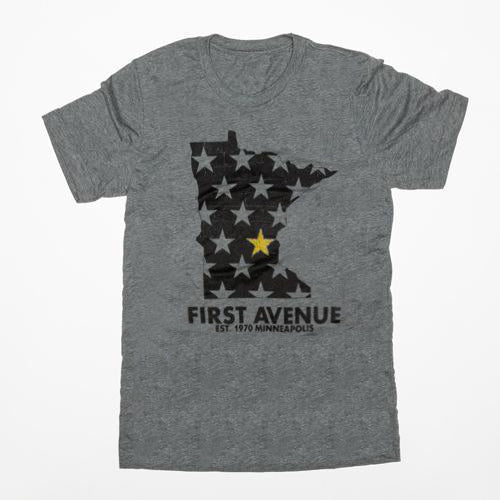First Avenue Gold Star Minnesota Tee
