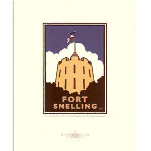 Fort Snelling Print