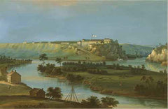 Fort Snelling in 1844