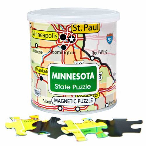 Minnesota Magnetic Puzzle
